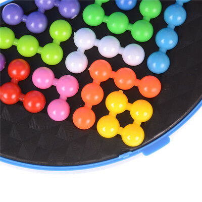 Puzzles & Games 1 Pcs Classic Children Pyramid Beads Puzzle Puzzle Pyramid Plate Iq Pearl Logical Mind Game Brain Teaser Educational Toys Without Return Puzzles