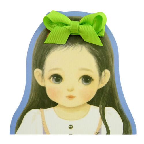 20PCS Baby Girls Hair Bows Boutique Alligator Clip Grosgrain Ribbon Hairpins LS 2