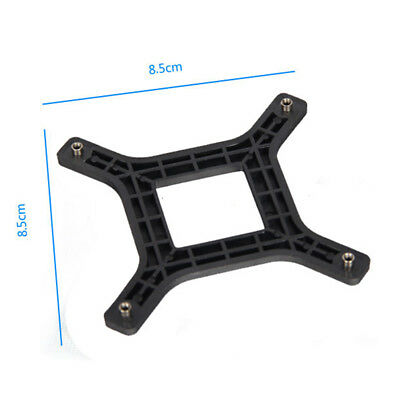 Plastic Backplate Socket Intel Lga775 Cpu Bracket Holder Cooler Radiators Bh