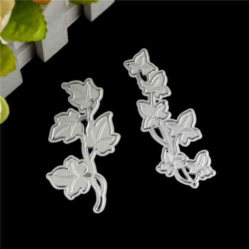 2X Flower Tree Design Metal Cutting Die For DIY Scrapbooking Album Paper CarATA 3