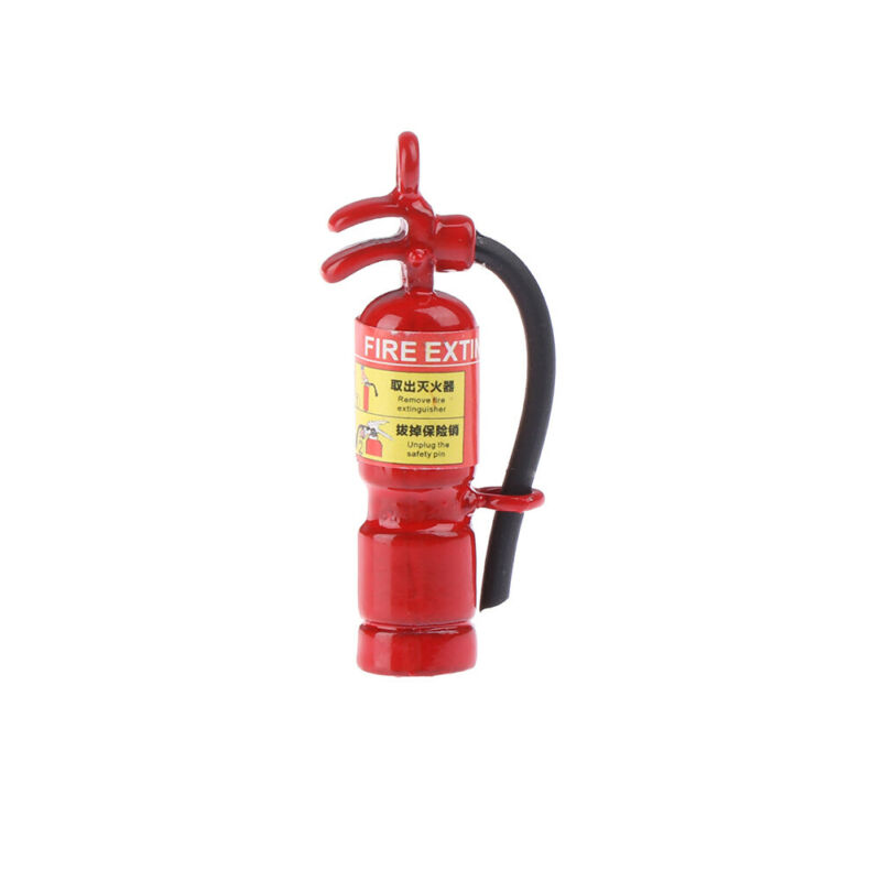 1:12 Dollhouse mini fire extinguisher dollhouse kitchen living room accessor CH