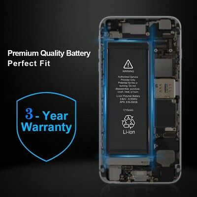 Brand NEW Orignal OEM Replacement iPhone 6S Battery 1715 mAh With Free Tools 8