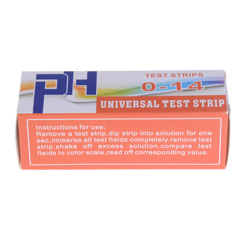 150 Strips bottled PH test strip 0-14 ph acidic alkaline indicator urine sal CH 4