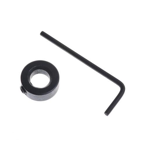 "3/8"" Hex Pocket Hole Twist Step Drill Bit+Stop Collar Set for Kreg Jig Guide pi"