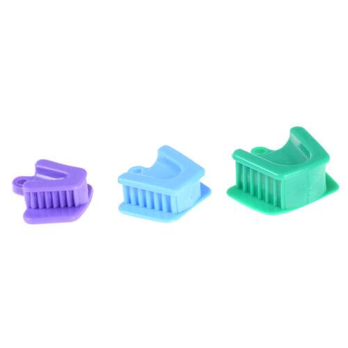 3pcs/set silicone bouche prop bloc de morsure fournitures dentaires  nw 4