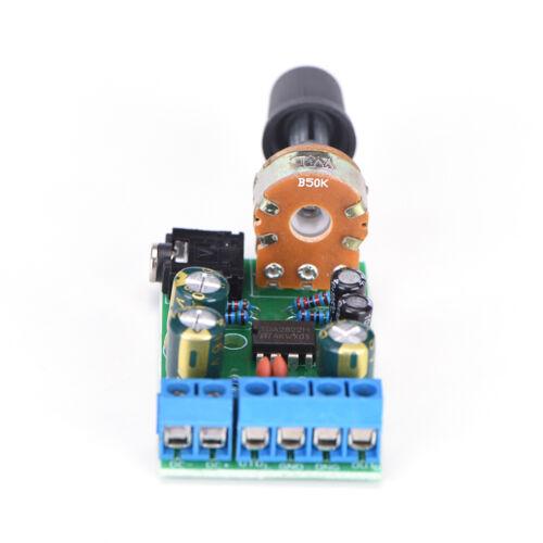 DC1.8-12V TDA2822M Verstärker 2.0 Kanal Stereo 3.5mm Audio Board Modul FBB