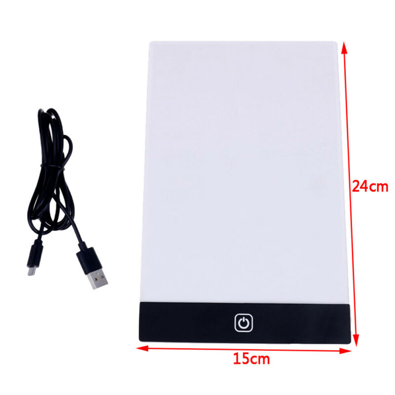 A5 led drawing tablet art stencil drawing board light box tracing table pad TE 12