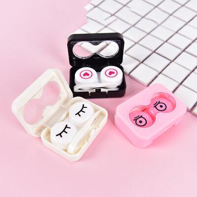 Extérieur cute voyage portable boîte de rangement de lentilles de contact