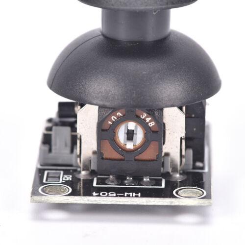 2PCS Dual-axis  Joystick Module PS2 Joystick Control Lever Sensor For Arduino AL 6