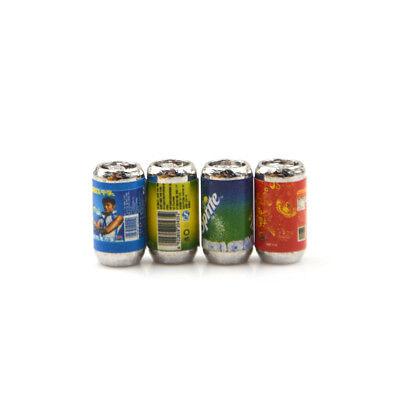 6PCS Mini 1/6 Scale Dollhouse Miniature Coke Drinks Model Pretend Play Doll T HF 6