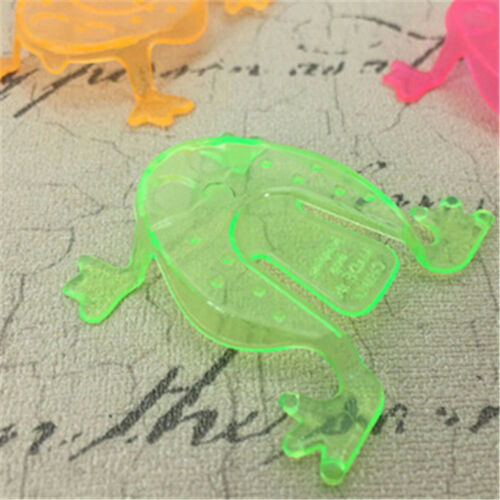 10PCS Jumping Frog Hoppers Game Kids Party Favor Kids Birthday Party Toys ÖÖ 6
