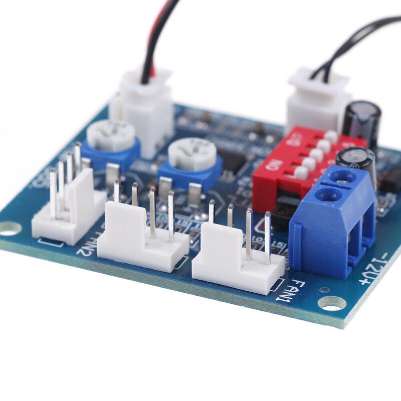 Dc 12v pwm pc cpu lüfter temperaturregelung drehzahlregler moP-p X0DEWCHCRD