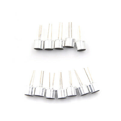 20Pcs Electret Microphone Inserts 6050 with PCB Pins Condenser hu 2