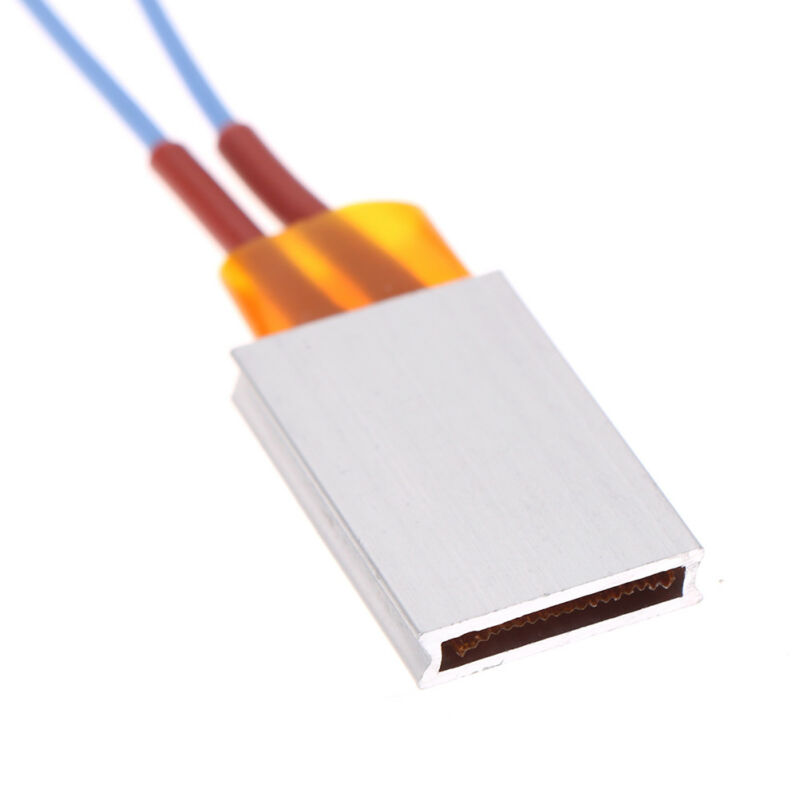 12V 35*21mm Constant Temperature PTC Heating Element Thermostat Heater Plate OJ