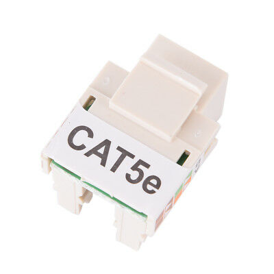 10x RJ45 CAT5e Keystone Jack Ethernet Netzwerkmodul Wandstecker New UUMW