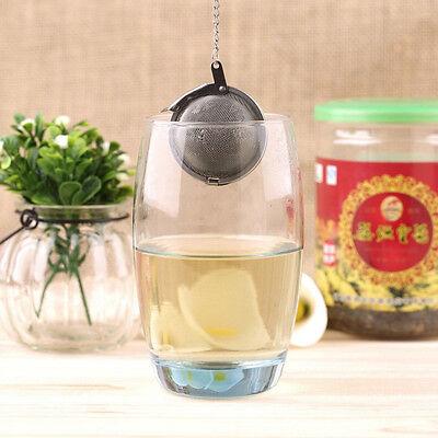 En acier inoxydable bouilloires thé sphère oeuf forme boule maille infuser 7