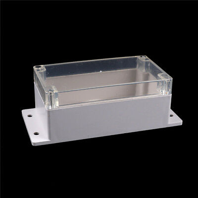 158x90x65mm Clear Waterproof Plastic Electronic Project Box Enclosure  Case GS 5