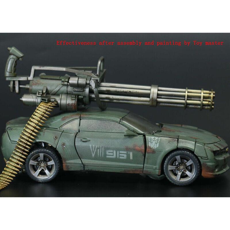 6 Actionfiguren M134 Gatling Minigun T800 schweres Maschinengewehr Modellha 1