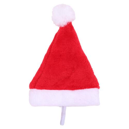 Christmas pet santa hat small puppy cat dog xmas holiday costume ornamentY lq 4