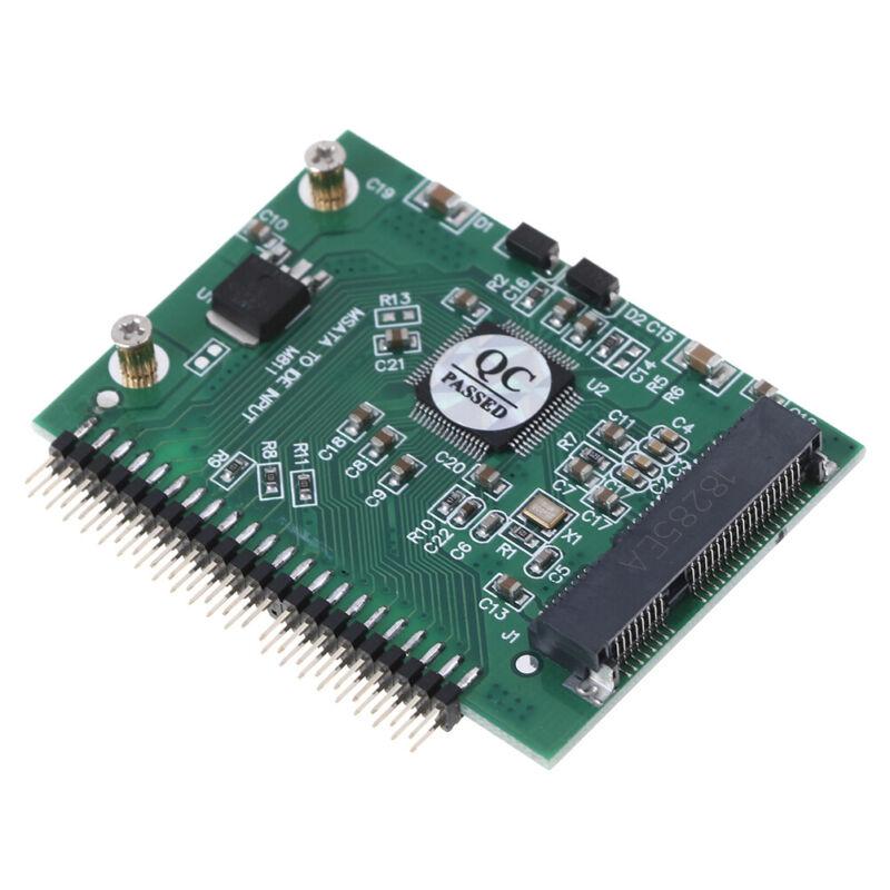 mSATA adapter mSATA SSD to 44Pin IDE adapter mSATA IDE converter card for laptBB 6