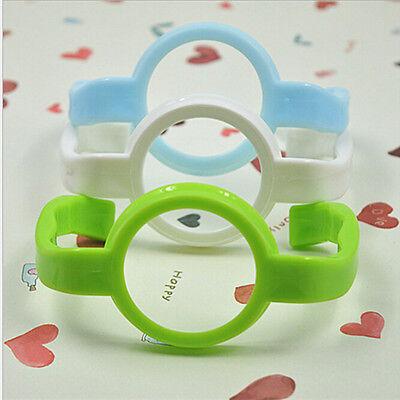 Baby Cup Feeding Bottle Trainer Easy Grip Standard Plastic Handles Holder HF ^P 5
