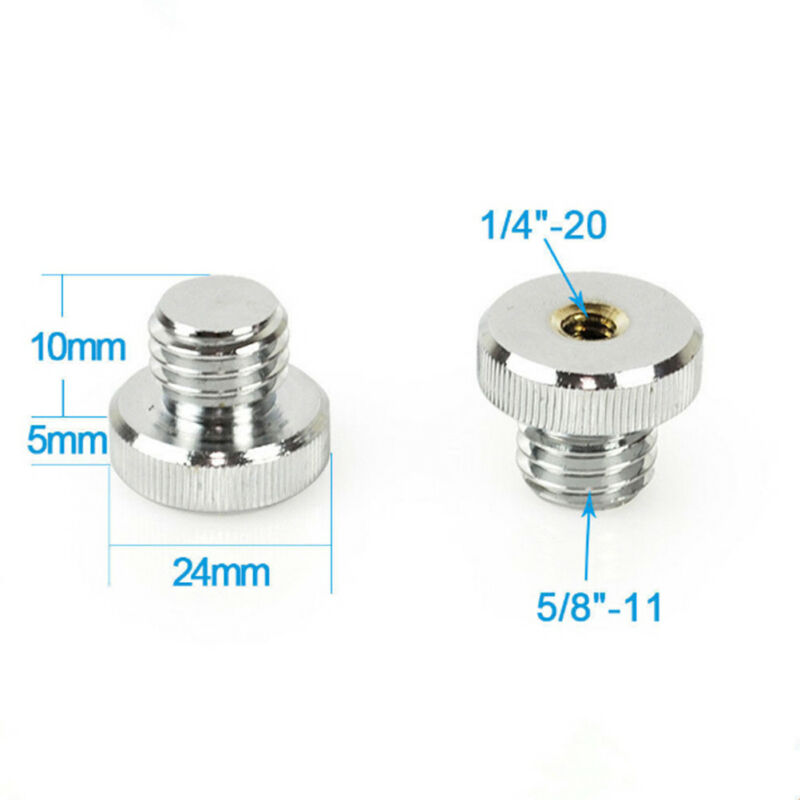 """Adaptateur fileté 1/4 """"-20 à 5/8"""" -11 pour adaptateur de niveau laser trépiSN 7"""