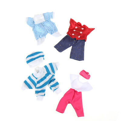 5set Cute Handmade Clothes Dress For Mini Kelly Mini Chelsea Doll Outfit Gift Jz 3