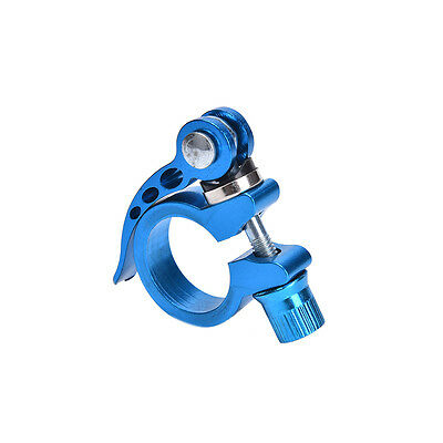 Alloy Cycling Bike Quick Release Seat Post Bolt Binder Clamp 28.6//31.8Mm HKT2P