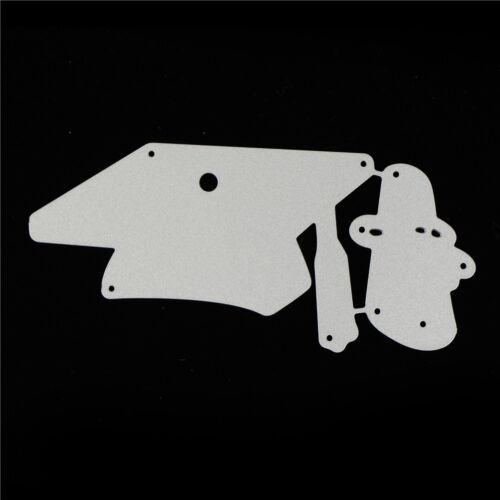 Doctor Cap Design Metal Cutting Dies For DIY Scrapbooking Album Paper Cards GK 6