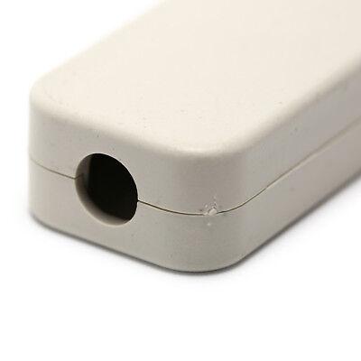 Small plastic housing power terminal box screw-free self-locking shell black YH 6