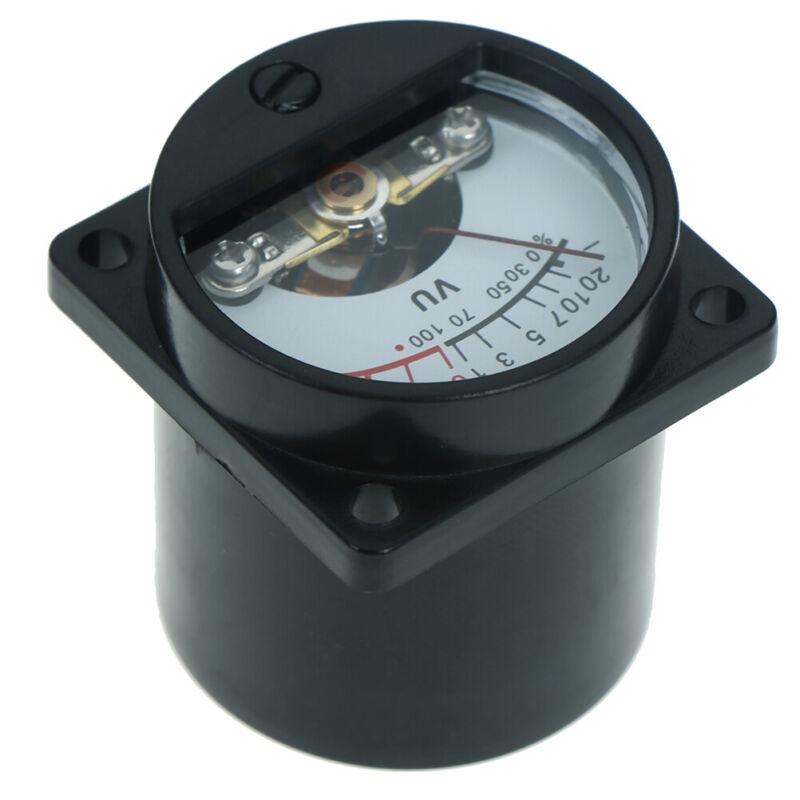 6-12V panel VU meter bulb warm back light recording audio level amp meter SPFR 4