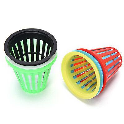 10x Heavy Duty Mesh Pot Net Cup Basket Hydroponic Aeroponic Plant Grow Clone  PL