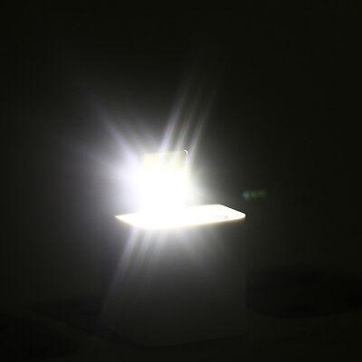 5 STÜCKE Nachtlampe Mini Pocket Card USB Power LED0,2 Watt Licht für Computer WH