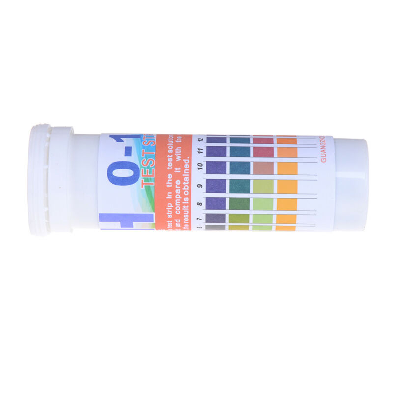150 Strips bottled PH test strip 0-14 ph acidic alkaline indicator urine sal CH 6