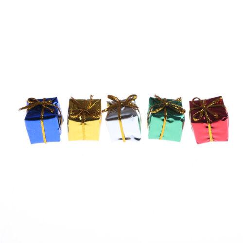 10X Dollhouse Miniature Box Christmas Dollhouse Decoration Gift Toy  @M 3