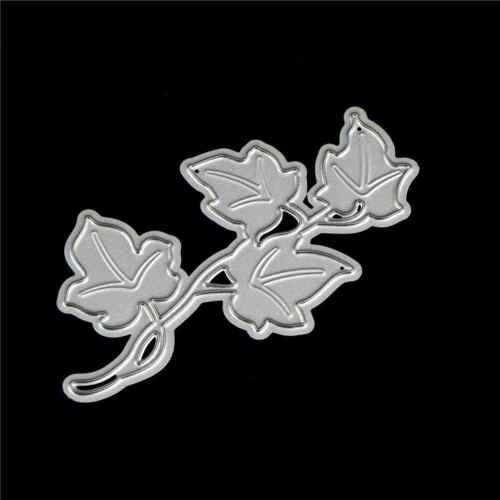2X Flower Tree Design Metal Cutting Die For DIY Scrapbooking Album Paper CarATA 6