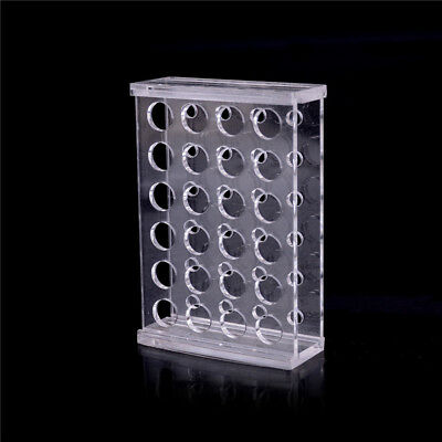 24 Holes Test Tube Rack Testing Tubes Holder Storage Plastic Lab Supplies NEW' 5
