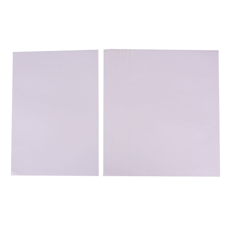 10 feuilles A4 autocollant auto-adhésif blanc mat imprimable mat Iink pour  ~PL 5