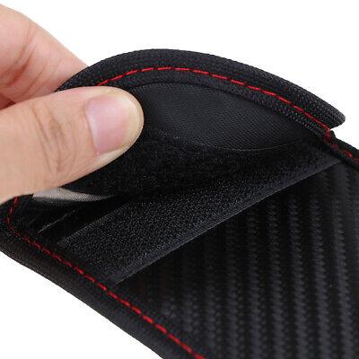 Black Car Key Signal Blocker Case Pouch Bag Faraday Cage Keyless RFID Blocking 9