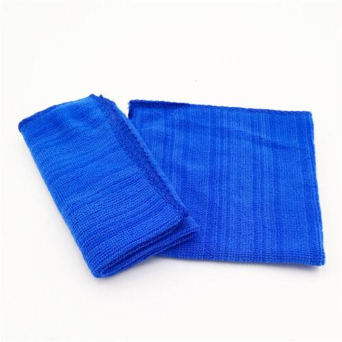 5Pcs Durable Microfiber Cleaning Auto Soft Cloth Washing Cloth Towel Dus bu 5