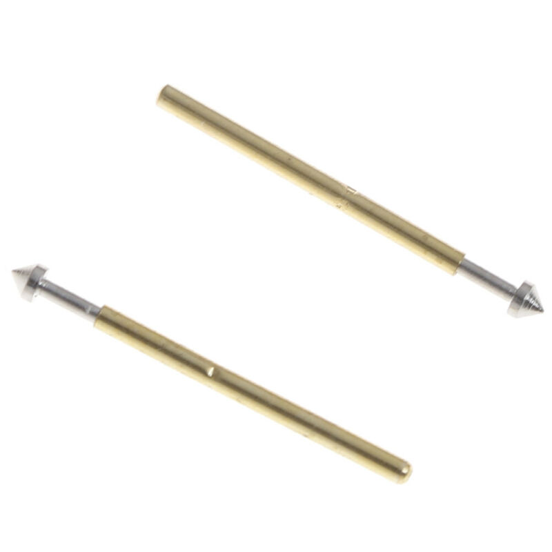 100Pcs P75-E2//E3 spring test probe pogo pin 1.3//1.5mm conical head 1.0mmthimbleB