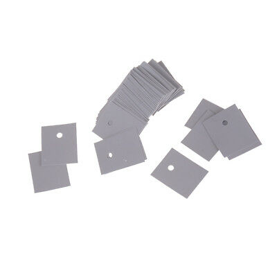 50pcs TO-247 Transistor Silicone Insulator Insulation Sheet 20*25mm UK ^F 6