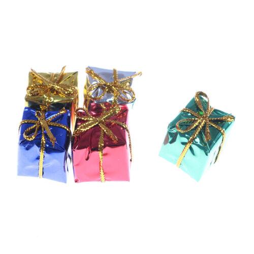 10X Dollhouse Miniature Box Christmas Dollhouse Decoration Gift Toy  @M 2