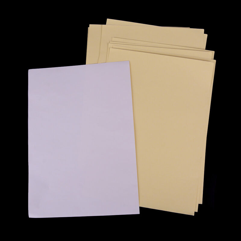 10 feuilles A4 autocollant auto-adhésif blanc mat imprimable mat Iink pour  ~PL 3
