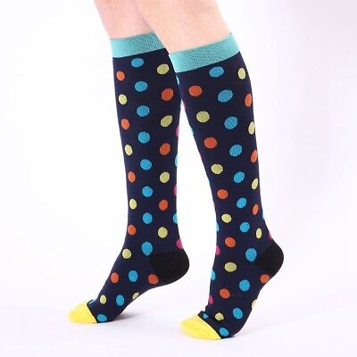 Compression Socks For Women Men 21-59CM Medical Nursing Travel Flight Crossfit 9