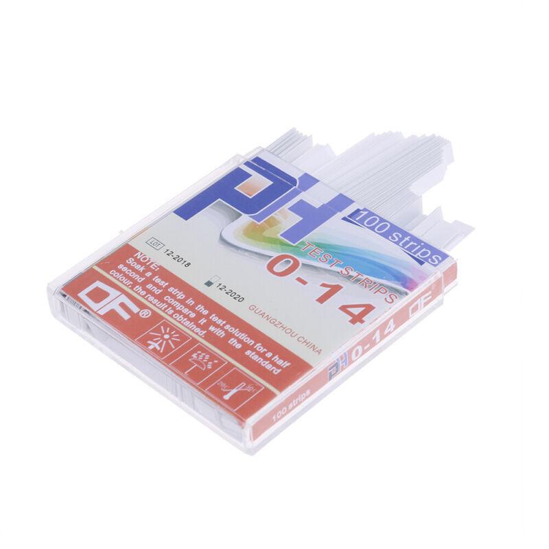 100x PH indicator test strips 0-14 test paper water litmus tester urine saliva * 6