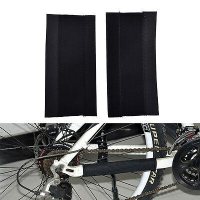 KHENG 2 x Fahrrad Ketten Strebenschutz Rahmenschutz Kettenstrebenschutz O0F0 5x