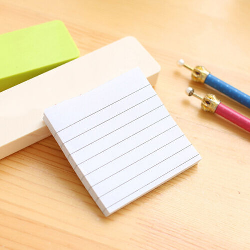Sticky Notes Notebook Memo Pad Bookmark Paper Sticker Notepad Stationery Cl 6
