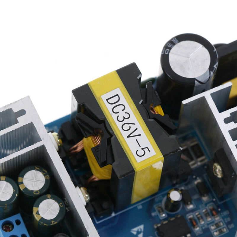 AC-DC 100-240V to 36V 5A 180W 50/60HZ Power Supply Switching Board Module dnTEC 10