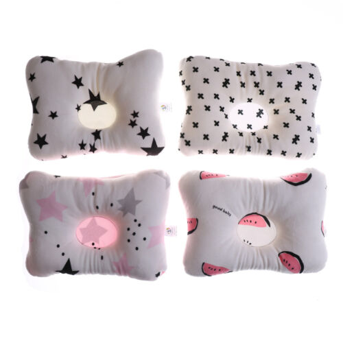 Baby Infant Pillow Newborn Anti Flat Head Syndrome for Crib Cot Bed Neck-SuMAEK 2